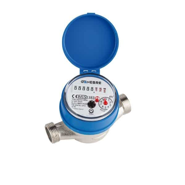 Contador de agua de chorro nico agua fr a - Contador de agua ...