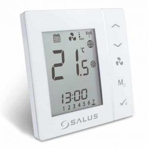Elegante termostato programable de fan-coil