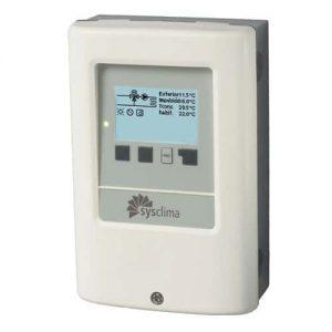 Controlador de circuito de calefacción con compensaciónde condiciones climáticas
