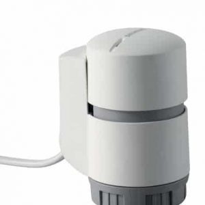 actuador electrotérmico con y sin conexión de cable