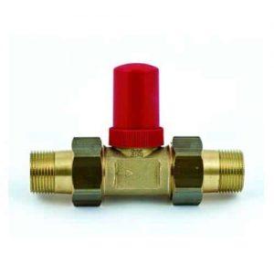 Válvula de presión diferencial con cuerpo de latón
